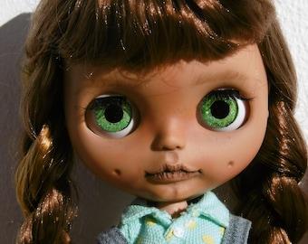 Blythe custom doll Caramelo