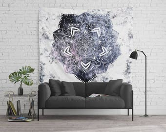 CANCER CONSTELLATION MANDALA - Horoscope Bohemian Wall Tapestry