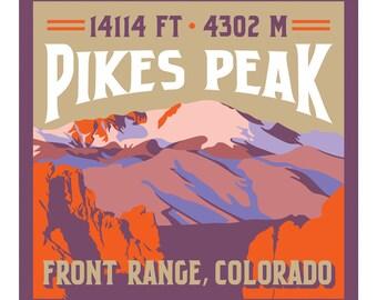 Pikes Peak Print