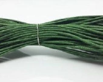 10 Meters 1mm No6 Waxed Cotton , Crafts Cord 1mm