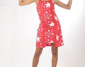 Dress in cotton Red Star toilya