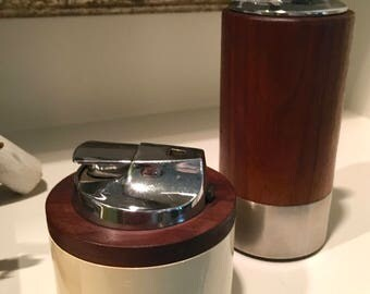 """Vintage Mid Century Modern Ronson Lighters """"Varaflame La Ronde"""" and """"Norseman"""" Models Coffee Table Lighters Home Decor BUYER'S CHOICE"""