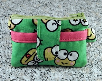 Cute Keroppi Mini Wallet Coin Pouch Card Holder