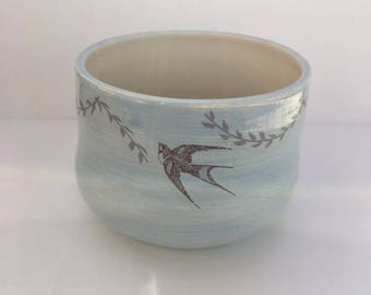 Porcelain Small Bird Bowl