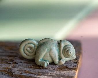 Chameleon whistle pendant
