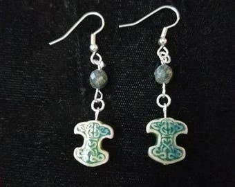 Mjolnir and green serpentine