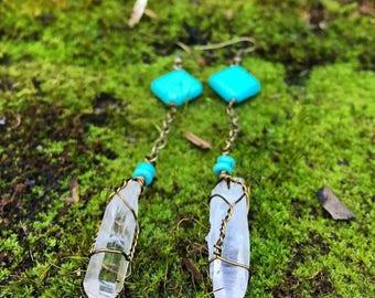 Quartz + Turquoise