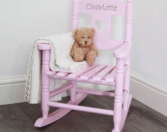 Personalized Chair - Rocker, Monograms for Chairs FREE SHIPPING