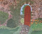 Art Print Gate to Paradis...