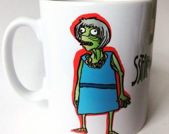 ZombieMay - Mug - Fathers Day - Zombie Mug - Political Plop