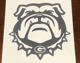 Ga Bulldog Decal