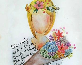 My Creator Illustration (Plain Background)