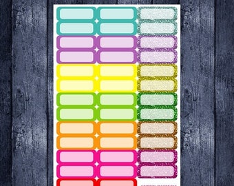 Summer quarter box stickers for erin condren life planner