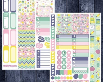 Weekend Sale School Days Kit for Personal Planner
