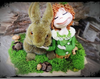 "FIGURINE ""friendship in the forest"""