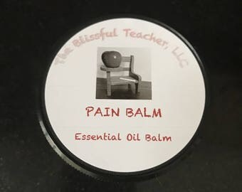 All Natural Pain Balm
