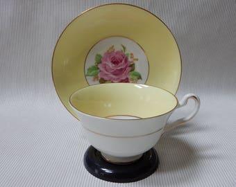 Rosina China Teacup and Saucer