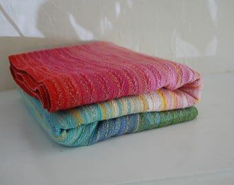 3.3m 100% Egyptian Cotton Babywrap- Silver gray weft