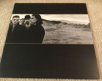 U2 The Joshua Tree Vinyl Record LP Album Rock