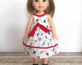 "14.5 Inch Doll Dress, 14.5"" Doll Outfit, WW Dress"