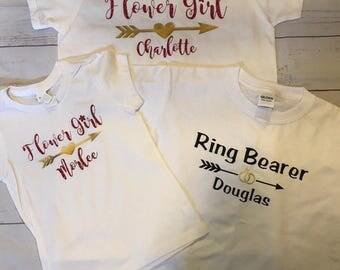 Flower girl or Ring bearer T-shirt