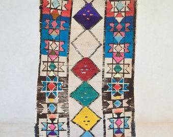 azilal runner vintage moroccan runner rug modern design