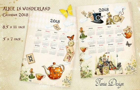 Alice in wonderland 2018