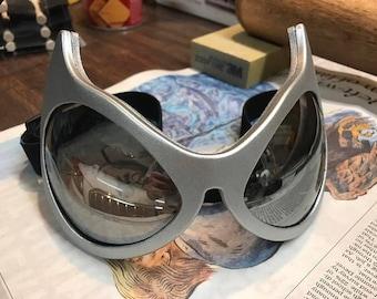 Catwoman Batman Cosplay Silver Goggles