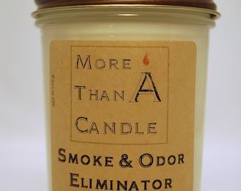 8 oz Smoke & Odor Eliminator Soy Candle