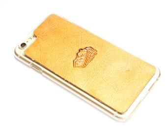 Leather iPhone 8 Case | Mountain Range Scene
