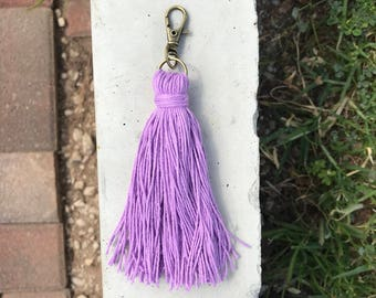 Purple keychain/zipper pull