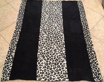 Cheetah soft and comfy blanket