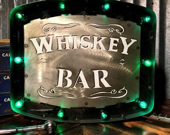 Whiskey Bar Marquee Sign