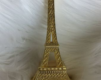 """6"""" Gold Plated Eiffel Tower"""
