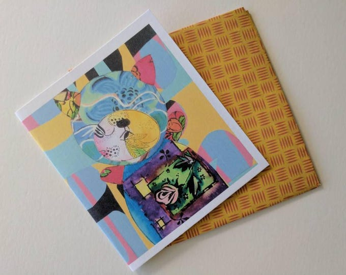 Featured listing image: Greeting Card -Hand made in the studio by Samantha Thompson