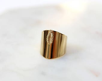 Fine gold plated Signet Ring
