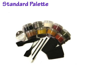 Face Paint Kit Natural Vegan Colors for Fantasy and Party Wear Petroleum-free non-nano GMO-free Oil-free See Description for Kit Colors