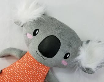 OOAK - Koala Plush - Stuffed Koala - Stuffed Animal - Ready tomShip