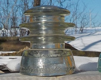 glass insulators -lot of 3 for one price