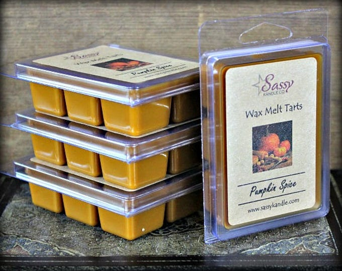 PUMPKIN SPICE | Wax Melt Tart | Sassy Kandle Co.