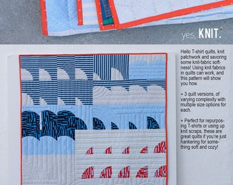 Tee: The Knit Quilt Primer by Carolyn Friedlander Free Shipping in the US