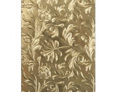 New! Sizzix Tim Holtz 3-D Texture Fades Embossing Folder - Botanical 662716