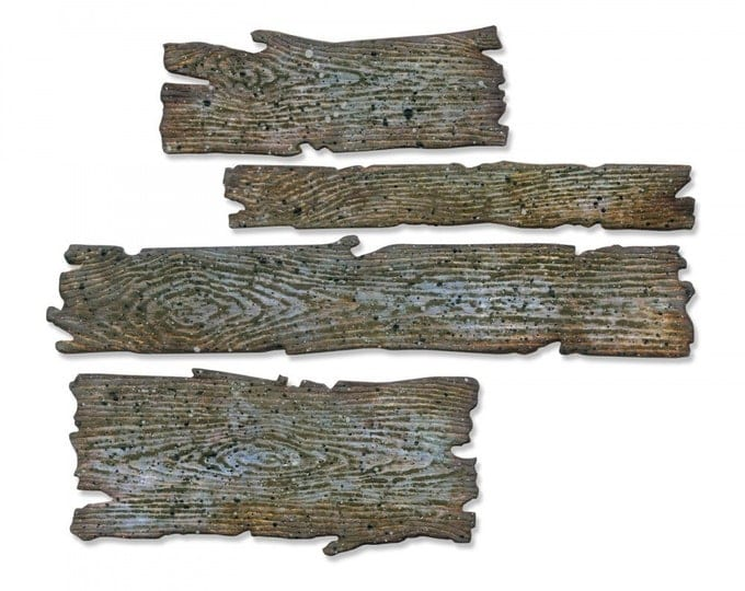 Will ship March 20th - Sizzix Tim Holtz Bigz Die - Planks 662705