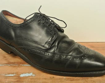 Allen Edmonds Bel Air Black Wing Tip Blucher Men's Size: 11.5EEE
