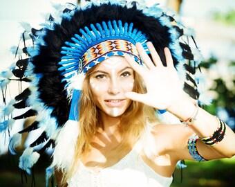 Native American headdress | Indian headdress | Warbonnet