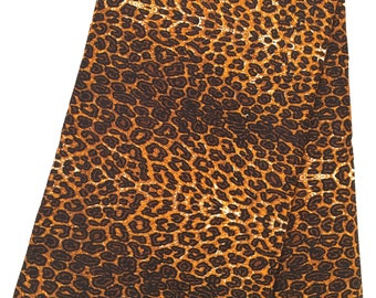 Leopard print fabric, african fabric, african print fabric, ankara fabric, african fabrics, african wax print fabric, african wax fabric
