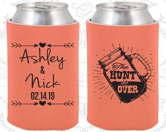 Mason Jar Wedding, Wedding Decoration, Rustic Wedding, The Hunt is Over Wedding, Wedding Can Holders (218)