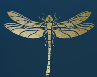 Dragonfly, Art Stencil, ST9