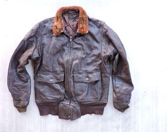 G1 flight jacket | Etsy