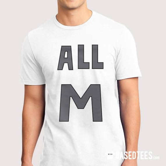All M (All Might)  - T-Shirt